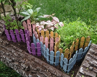 Colorful Picket Fence