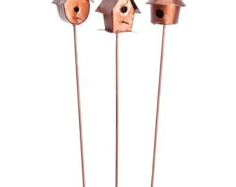 Metal Bird House Picks (3 to choose from)