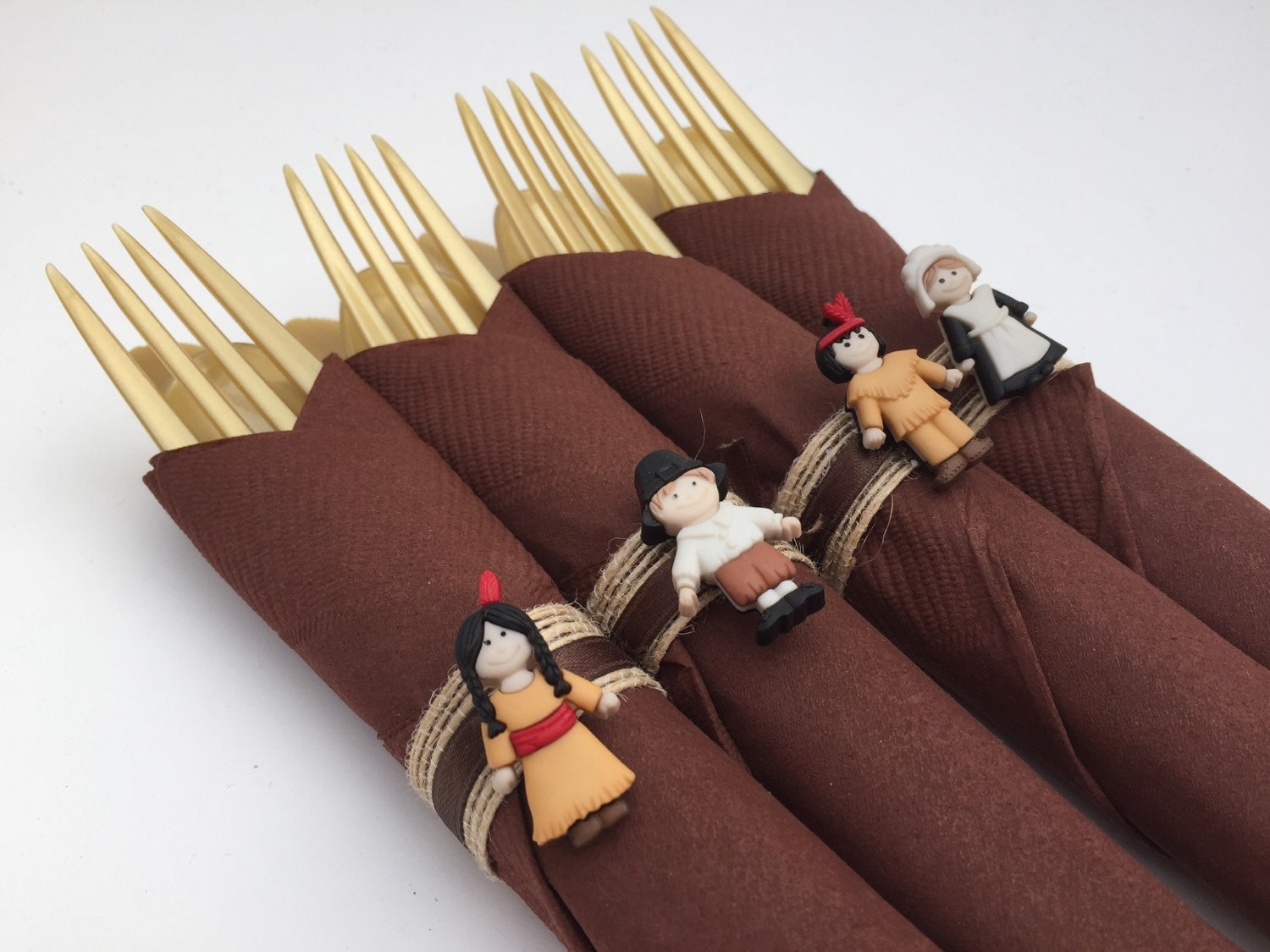 Thanksgiving napkin rings thanksgiving theme napkin rings for Turkey napkins
