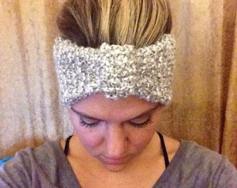 Hand knitted turban