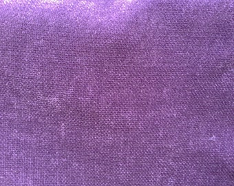 Purple Chenille Upholstery Drapery Fabric - BTY - 55""