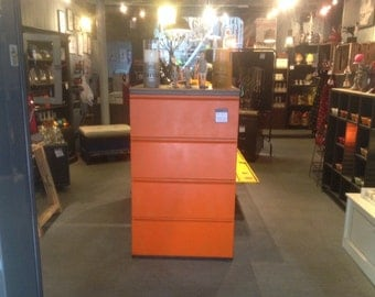 Industrial cabinet with drawers (sold)