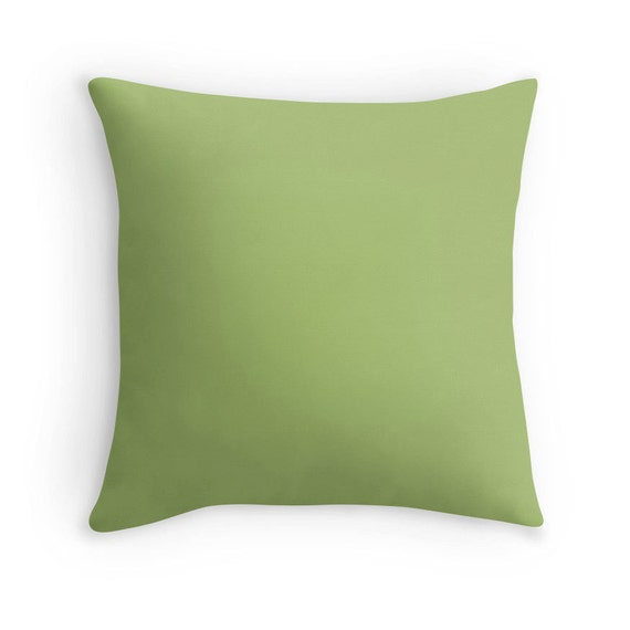 Decorative Pillows For Bed Green : Sage Green Pillow Light Green Pillow Green Bedding Green