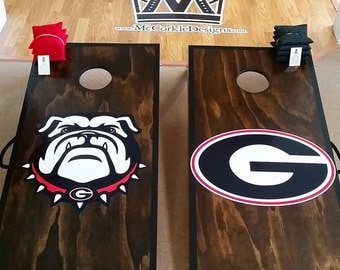 UGA Cornhole boards !