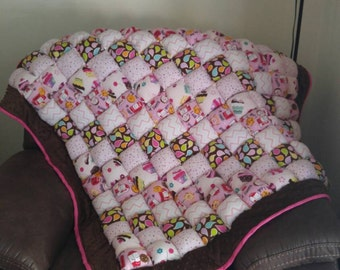 Custom Bubble puff quilt