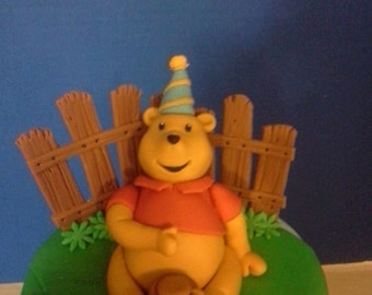 Fondant Winnie the Pooh