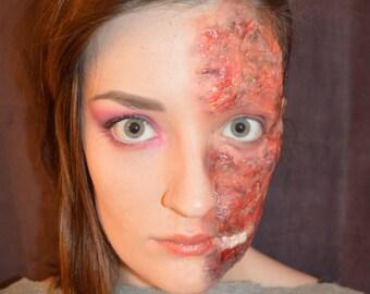 burns, two face, batman, halloween, fancy dress, costume