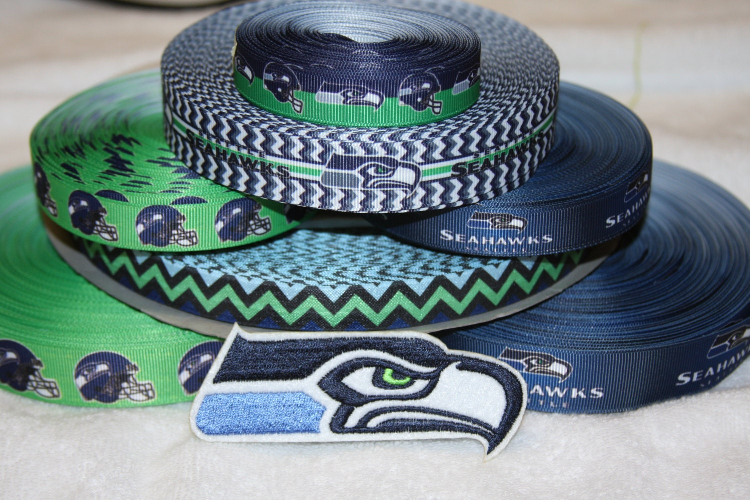 Seattle Seahawks Throw www.bet at home.com angielski Blanket