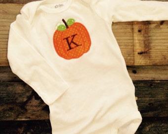 INFANT Pumpkin Shirt