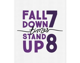 Typography Print - Stand Up 8