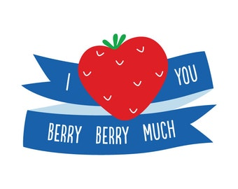 Berry Much - Temporary Tattoo (Set of 1)