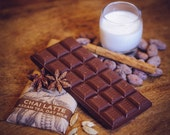 Vegan Milk Chocolate with Chai Tea