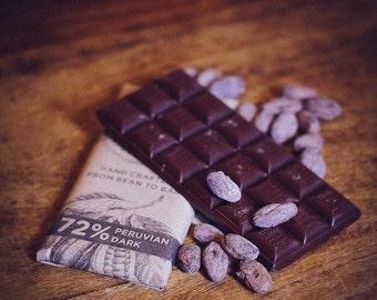 Vegan chocolat noir