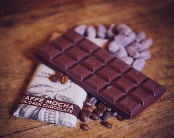 Vegan Dark Coffee Chocolate - Caffe Mocha