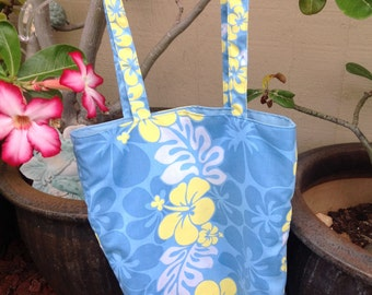 Hawaiian Tote Bag Small