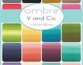 V and Co Ombre for Moda Half Yard Bundle