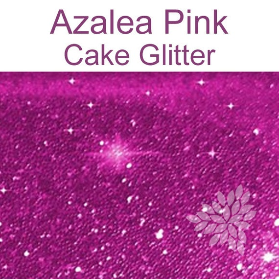 Decorating Cake Pops With Glitter : Azalea Pink Cake Glitter for Decorating Cupcakes, Pink ...