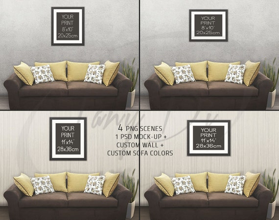 8x10 11x14 living room 10 modern sofa wall by for 11 x 14 living room