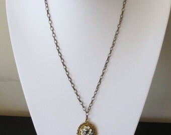 Sorry ! This is resereved . One of a kind , vintage style necklace