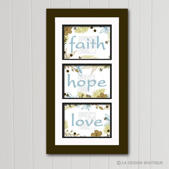 Il_570xn  sc 1 st  Catch My Party & Faith Hope Love Faith Hope Love Wall Art Faith Hope Love Print ...