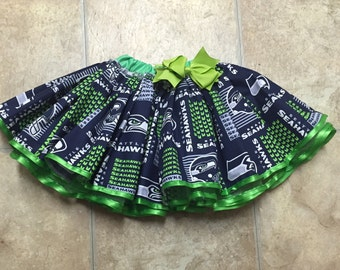 Calling all Seattle Seahawks fans, enjoy this team skirt!