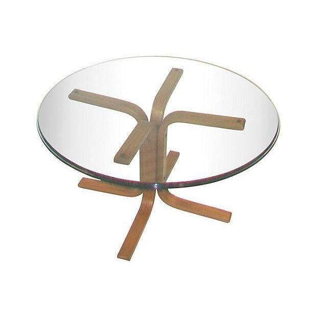 Danish Modern Teak Coffee Table Base Only