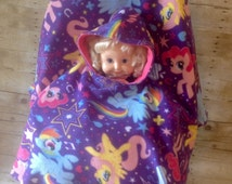 My Little Pony Toddler Car Seat Poncho