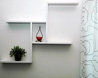 Modern five wall Bookshelf,wall shelf,shelves,wall shelves,floating shelves,floating shelf