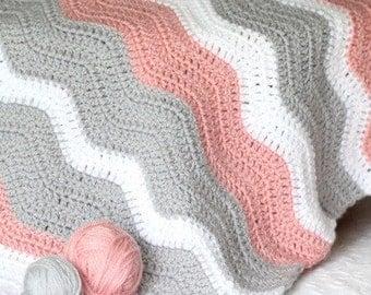 Handmade crocheted balnket