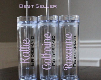 Wedding Tumblers, Bride, Bridesmaid gifts, Bridal Luncheon, Groom, Groomsmen, Wedding Day, Mother of the Bride, Mother of the Groom, Mom