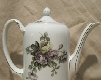 REDUCED PRICE!!!  Rosenthal Chocolate/Coffee Pot with Floral Design