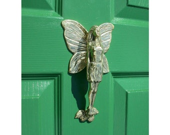 Flower Fairy Door Knocker