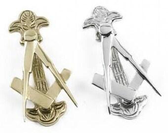 Polished Brass Masonic Door Knocker