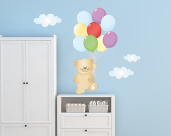 Items similar to jungle safari wall decals baby wall - Wall stickers camerette ...