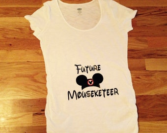 Future Mouseketeer Maternity T-Shirt