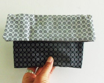 Cotton patterned pouch