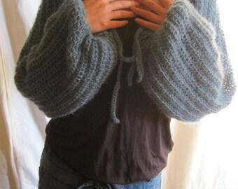 FREE SHIPPING#handmade crochet bolero# shrug