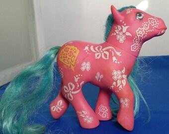 G1 My Little Pony MLP Sweet Blossom Flower Fantasy