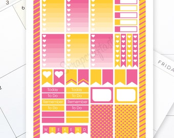 Smoothie Printable Planner Stickers for the Classic MAMBI Happy Planner