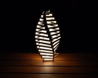 WALKING PYRAMID lamp 25 modern lamps wood lamp table