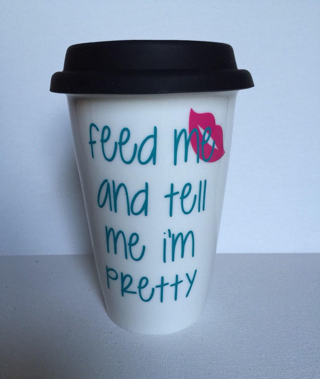 14oz Ceramic Coffee Travel Mug Coffee Mug By