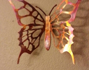Metal Butterfly - Copper Butterfly - Wall Decor - Butterfly - Home Decor - Wall Hanging - Wall Art