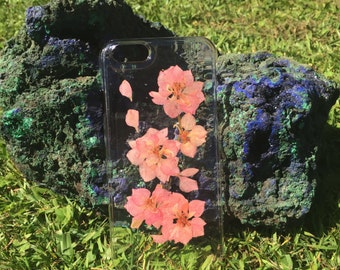 Dried Pink Flowers Phone Case