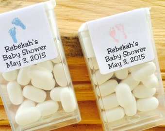 tic tac favors, baby shower favors, baby shower mints, baby shower mint favors, girl baby shower