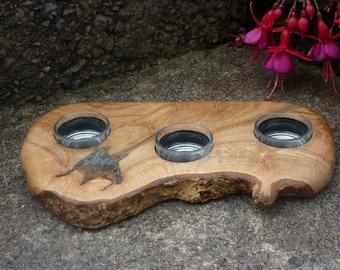 Unusual Oak TeaLight holder