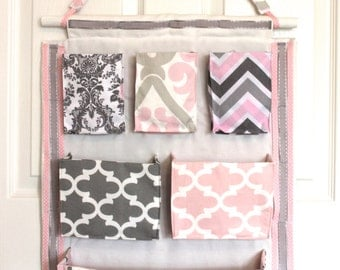 Hair Accessory Organizer (Custom-made - you choose the fabric and design)