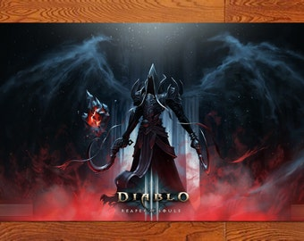 """DD33R Diablo3 Reaper of Souls Game poster High-quality posters prints 20 * 32"""""""