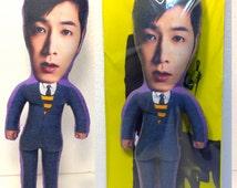 Yunho of TVXQ Stuffed Star toy Custom doll Handmade