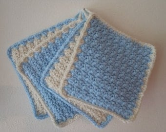 Hand made crochet pot holder hot pads