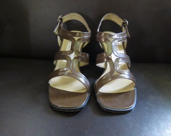 Etienne Aigner - Cola - strappy sandal with heel - original box